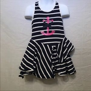 Other - Nautical Anchor Toddler Dress